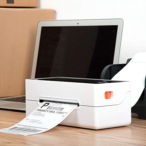 Phomemo Label Holder Device Compatible with Phomemo Label Printer 4/×6 Label Printer High Speed Printing at 150mm//s PM-246 Thermal Printer