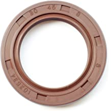 Metal Case w//Viton Rubber Coating EAI VITON Oil Seal 25mm X 44mm X 8mm TC Double Lip w//Stainless Steel Spring