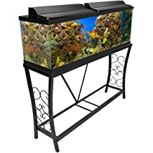 Two Stands in One Fish Upper /& Lower Levels Birds 38-1//2L x 29H x 13W Caitec Bird Toys TitanEzeDouble Aquarium Stand 30 Gallons Small Animals
